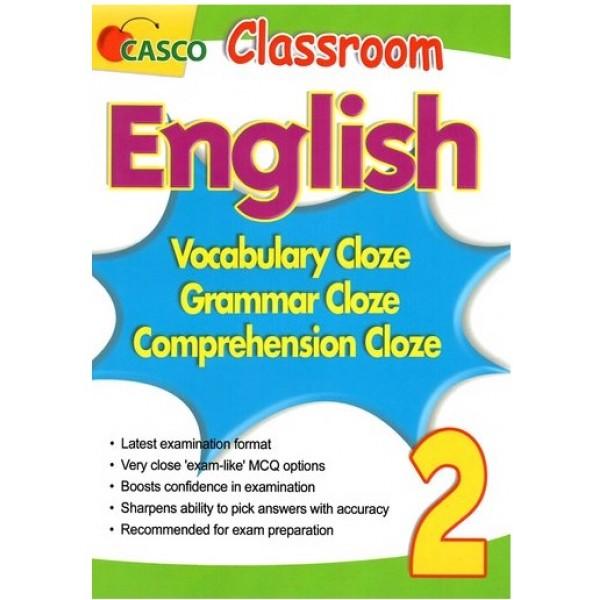 Classroom English Vocab/Grammar/ Comprehension Cloze 2