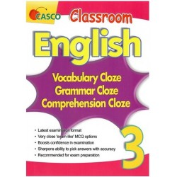 Classroom English Vocab/Grammar/ Comprehension Cloze 3