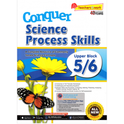CONQUER SCIENCE PROCESS SKILLS LOWER BLOCK 5/6