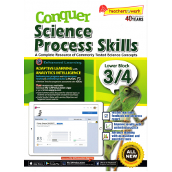 CONQUER SCIENCE PROCESS SKILLS LOWER BLOCK 3/4
