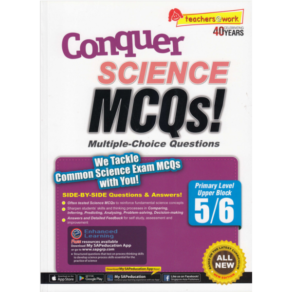 CONQUER SCIENCE MCQS! PRIMARY SCIENCE UPPER BLOCK 5/6