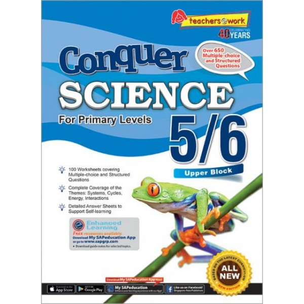 CONQUER SCIENCE FOR PRIMARY LEVELS 5/6