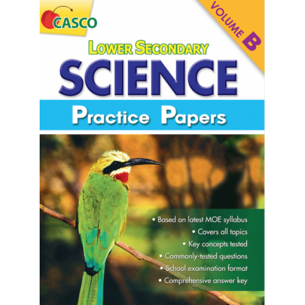 Lower Secondary Science Practice Paper Volume B