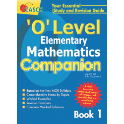 'O' Level Elementary Maths Companion Book 1
