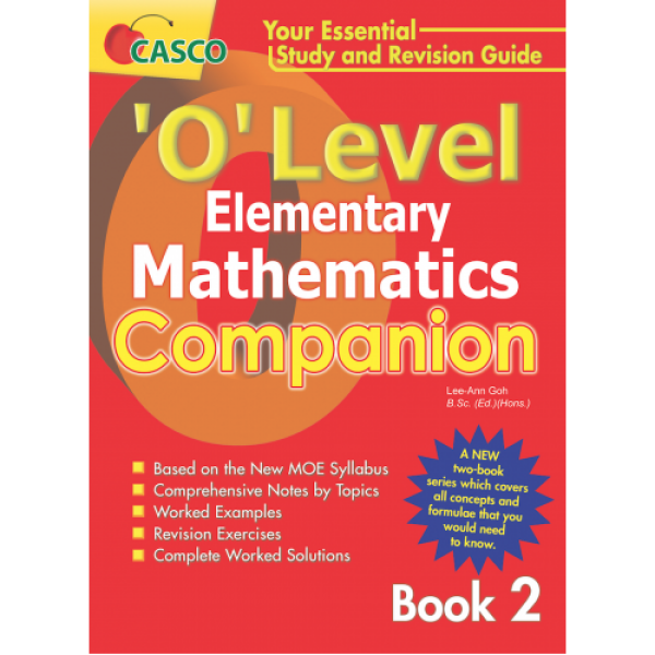 'O' Level Elementary Maths Companion Book 2